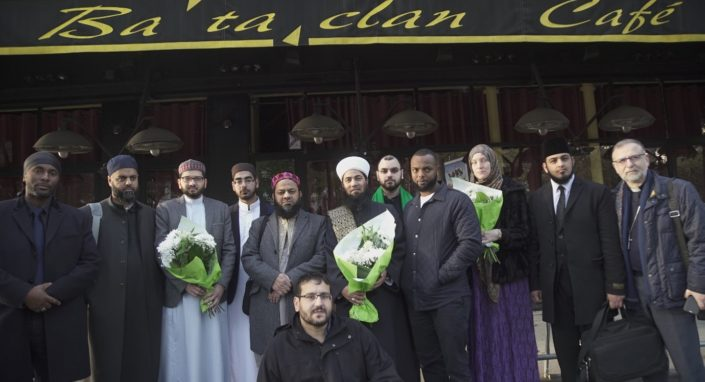 Bataclan civic and french leaders go to france