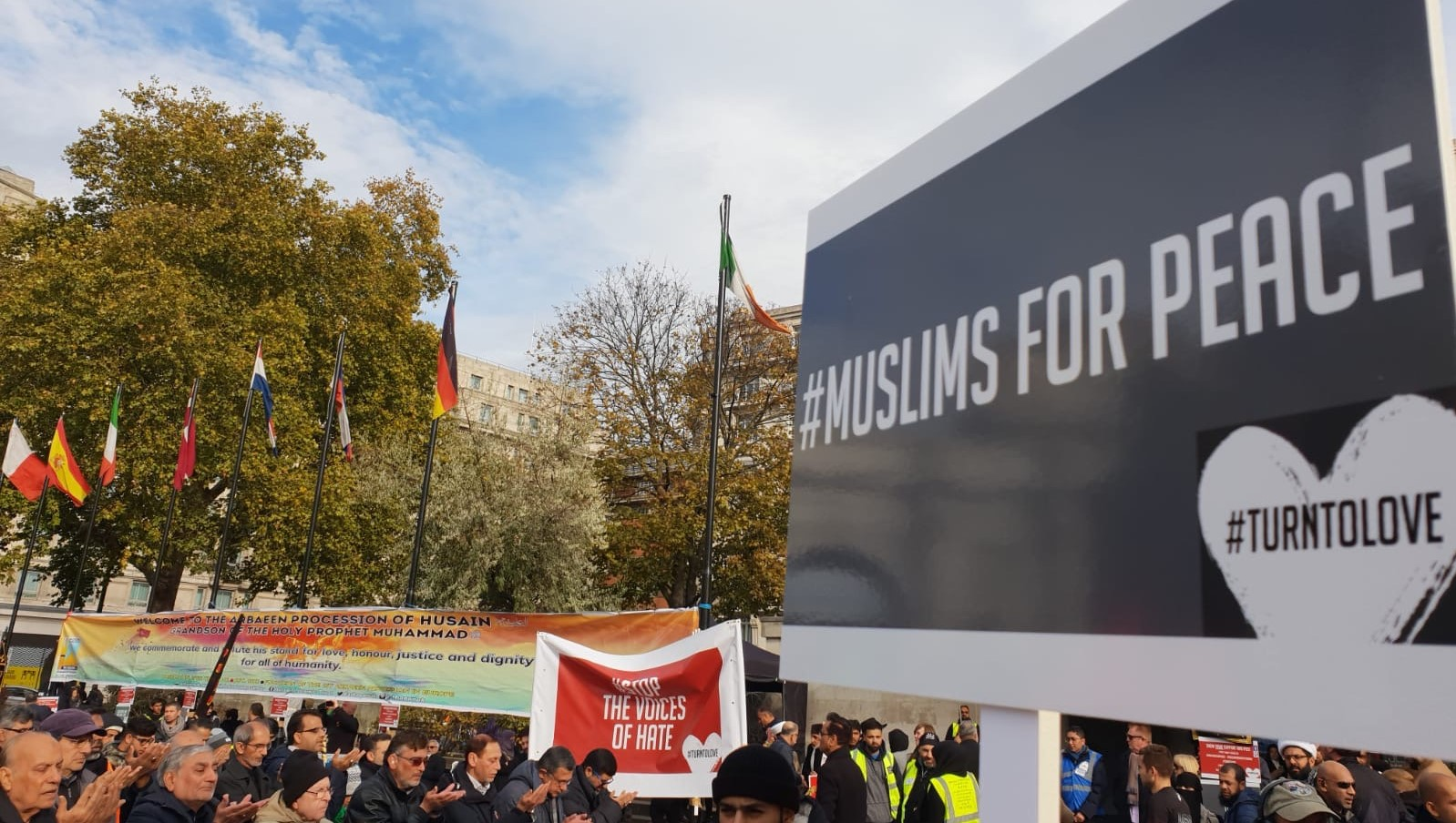 Non Muslim Perspective On The Revolution Of Imam Hussain: London's Muslim Community Organises Europe's Largest