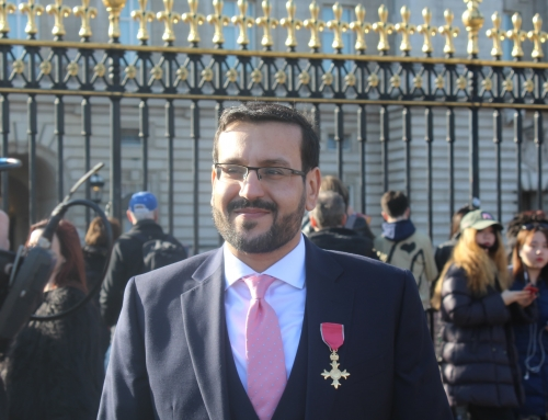 Mustafa Field awarded an OBE
