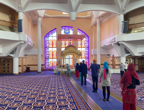 The Gurdwara, my savior and my one place where I feel at peace.