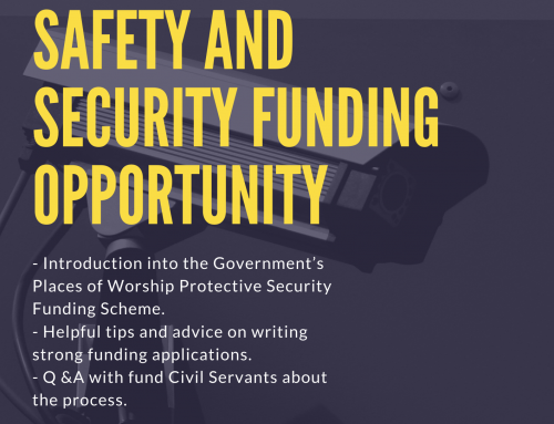 Places of Worship Safety and Security Funding Opportunity